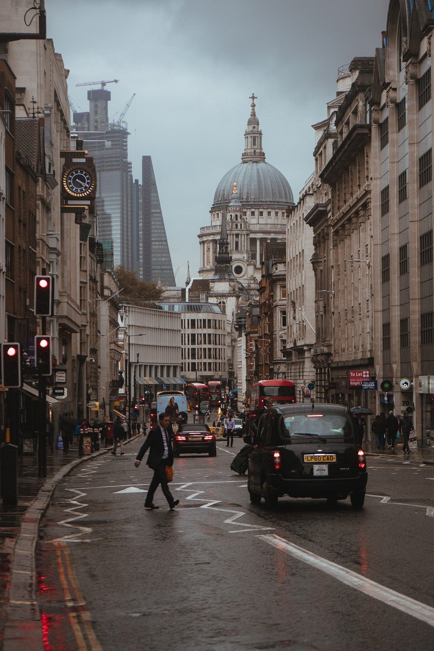 road, street, london
